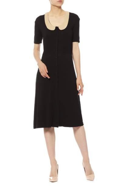 Платье женское So French SF1-24-005-01 черное 44 RU