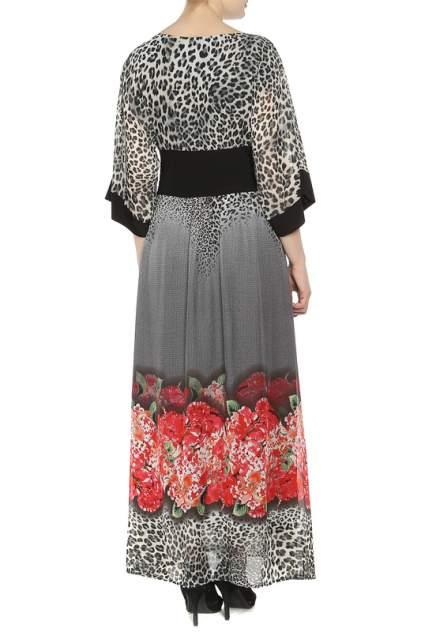 Платье женское NISH 5008 коричневое 44 IT