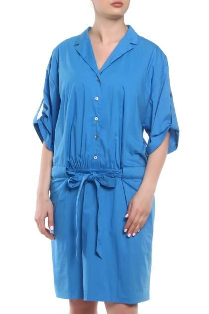 Платье женское Barbara Schwarzer 2128168/33 синее 44 DE