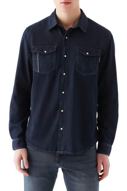 Джинсовая рубашка мужская Mavi 295732903 синяя 48-50