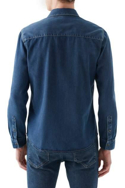 Рубашка мужская Mavi 295732901 синяя 48-50
