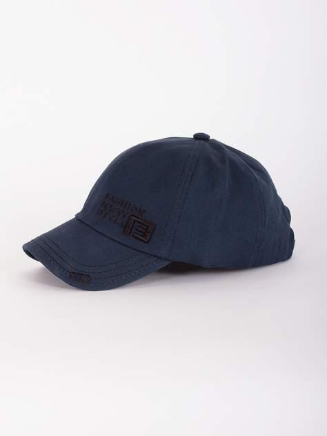 Бейсболка мужская DAIROS GD71700414 темно-синяя, р.57-58
