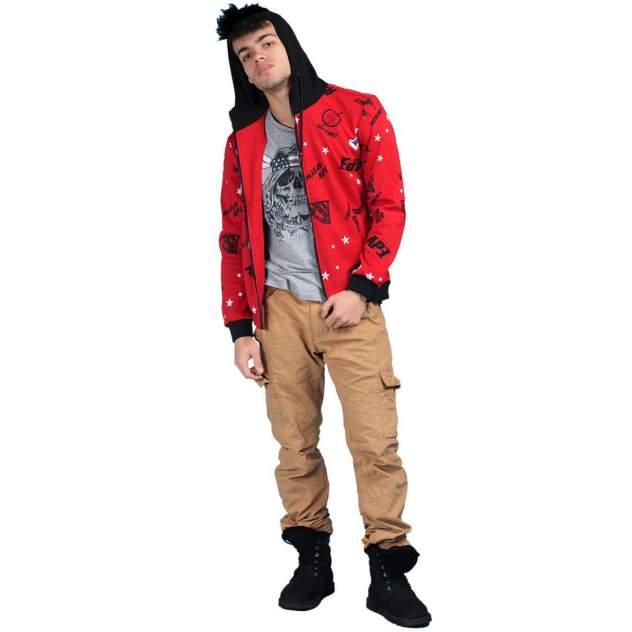 Куртка мужская MOAV MV-JCT9-16 красная M