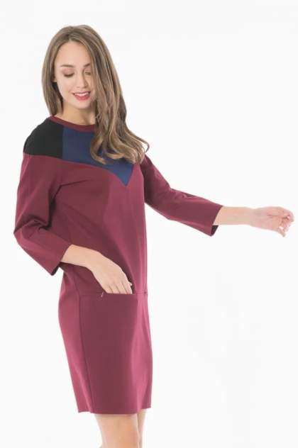 Женское платье ANTIGA Арт Студио, бордовый