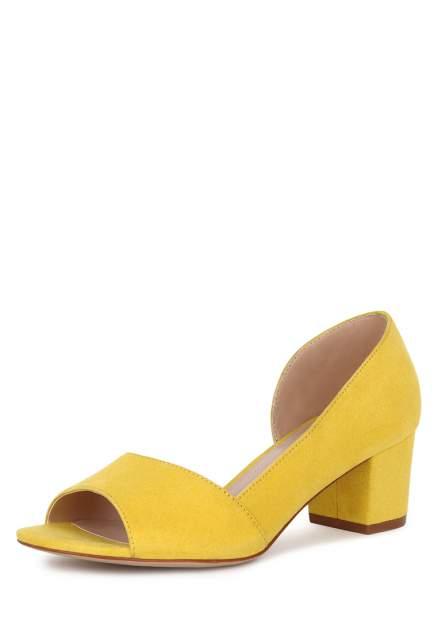 Туфли женские T.Taccardi K0517PT-4 желтые 39 RU