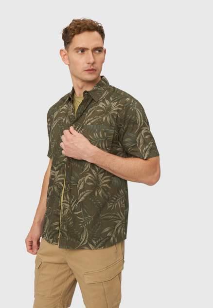 Рубашка мужская Modis M211M00399O530M05, хаки