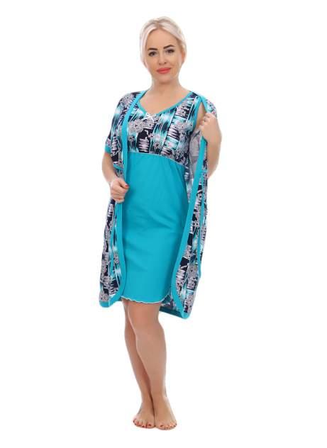 Женские комплект белья Mercury Home Ванесса, голубой