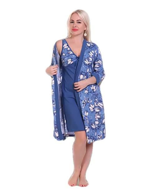 Женские комплект белья Mercury Home Кокетка, голубой