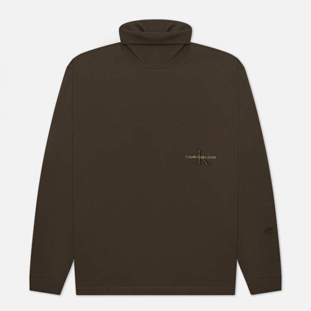 Водолазка мужская Calvin Klein Jeans J30J318644LBL,  хаки
