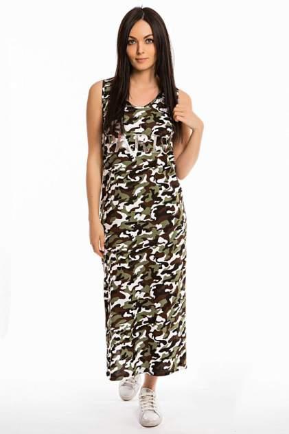 Женское платье Mercury Home Камуфляж, коричневый