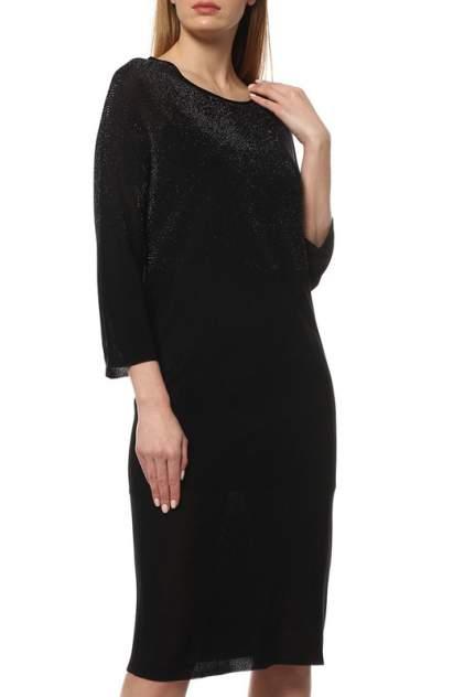 Платье женское Cruciani CD21.412 черное 44 IT