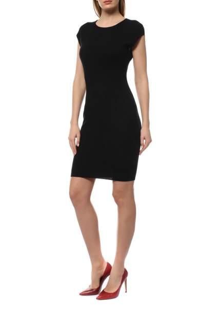 Платье женское Cruciani CD21.263 черное 44 IT