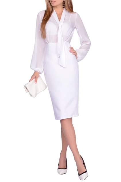 Платье женское FRANCESCA LUCINI F0723-4 белое 42 RU