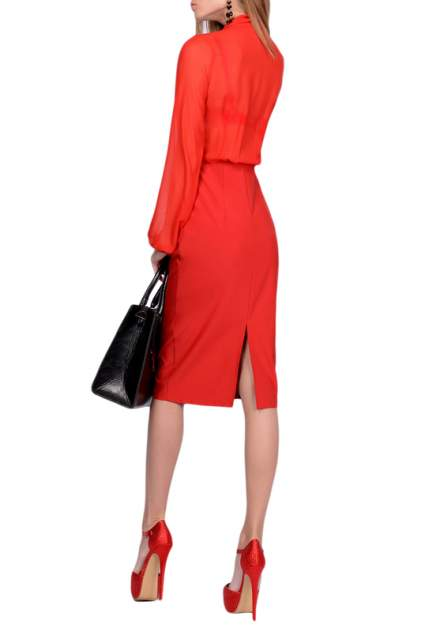 Платье женское FRANCESCA LUCINI F0723-2 красное 42 RU