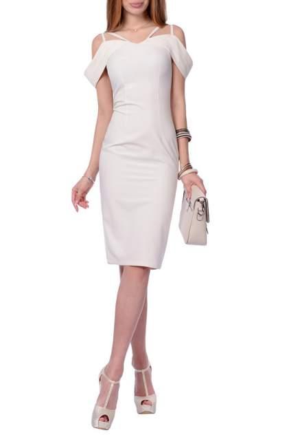 Платье женское FRANCESCA LUCINI F0692-8 бежевое 42 RU