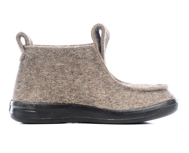 Валенки мужские ШК Обувь WB-09503 серые 46 RU