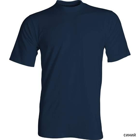 Футболка мужская Сплав прямая синяя 58