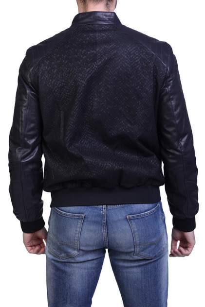 Кожаная куртка мужская EXPO FUR 123 синяя 56