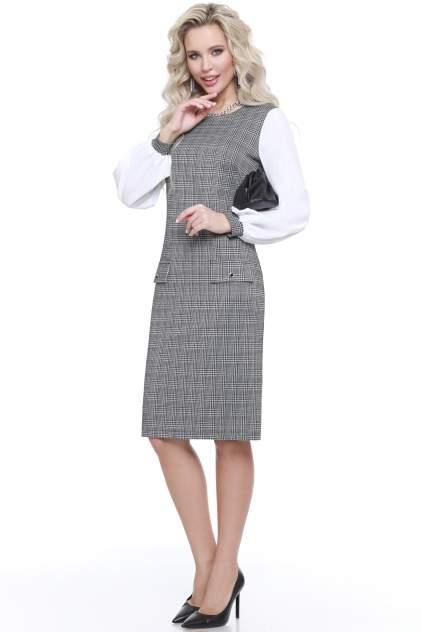 Женское платье Миллена Шарм 1907, серый