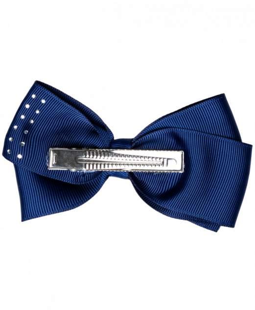 Синяя заколка с бантом в горошек Button Blue для девочек