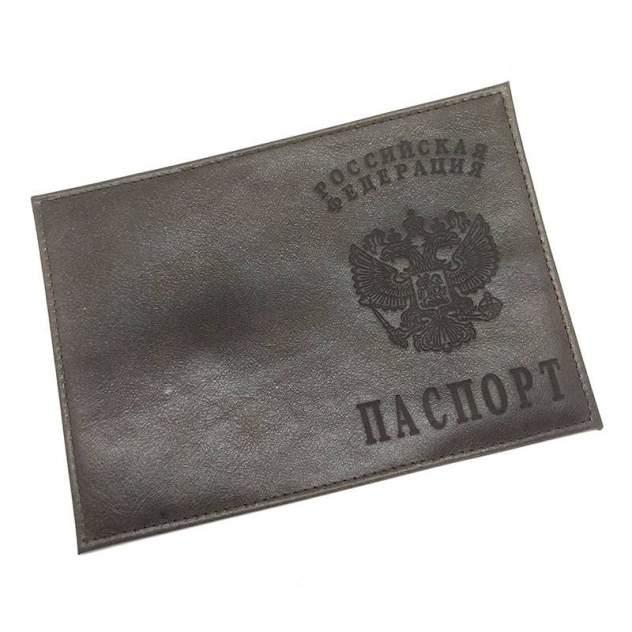 Обложка для паспорта мужская ARORA классик коричневая