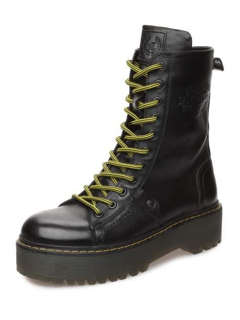 Ботинки женские MAKFLY 116MF-4-1, черный