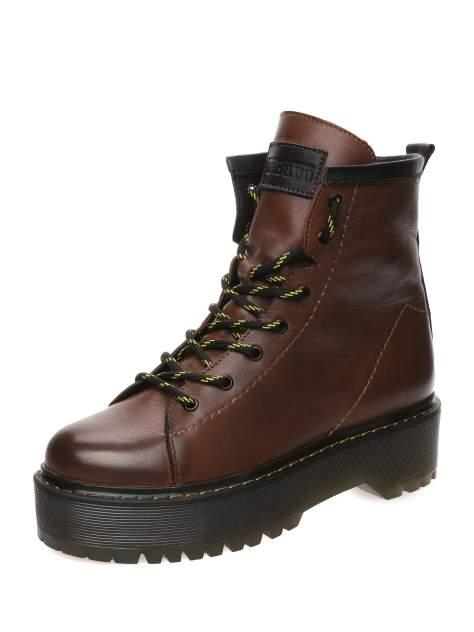 Ботинки женские MAKFLY 114MF-7-3, коричневый