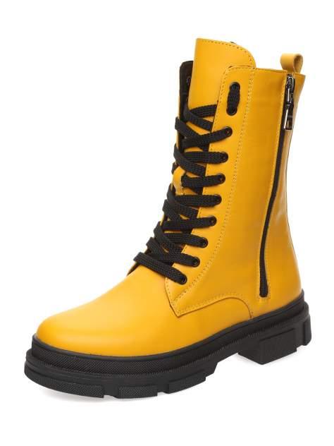 Ботинки женские MAKFLY 114MF-1-1, желтый