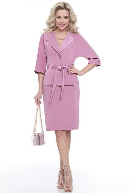 Женский костюм Миллена Шарм 0214, розовый