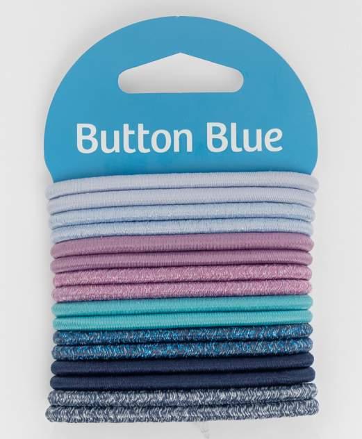 Набор резинок для волос Button Blue для девочек голубой