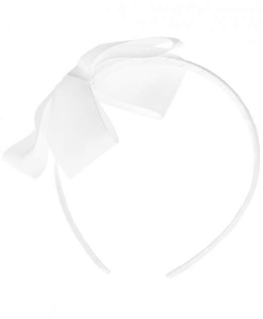 Белый ободок с бантом Button Blue для девочек