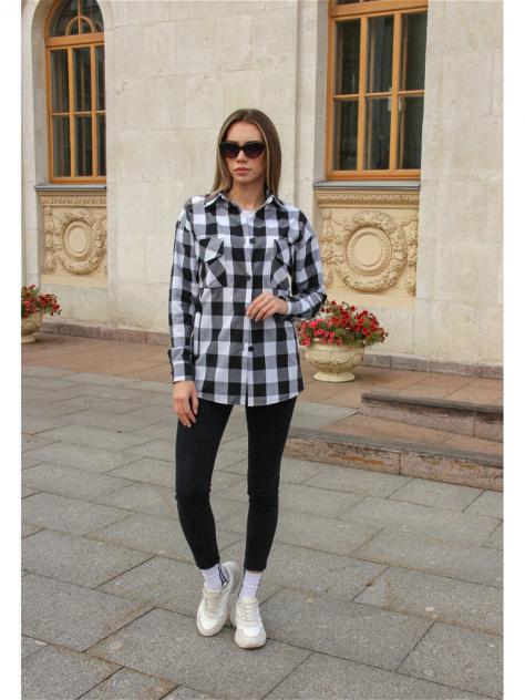Женская рубашка DAZZLE STYLE 3580, черный