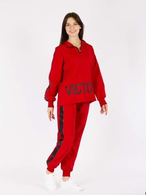Спортивные брюки женский DAIROS GD50100536 красные S