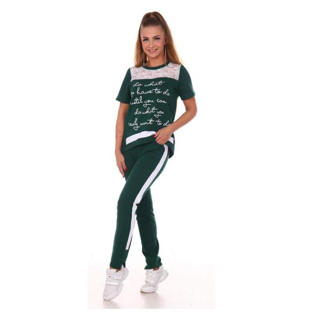 Домашний костюм Миллена Шарм 745005, зеленый