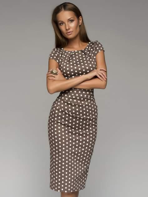 Женское платье 1001dress DM00204BR14, коричневый