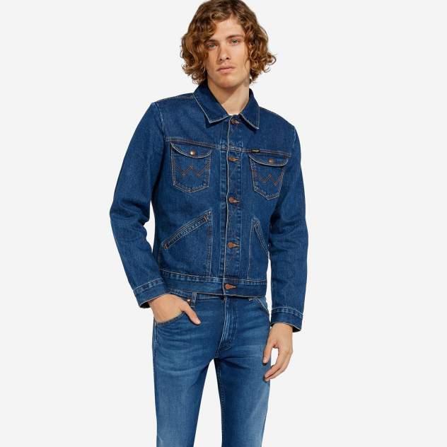 Мужская джинсовая куртка Wrangler W4MJUG923, синий