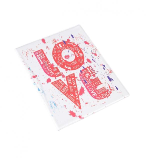 Папка для семейных документов RAFECOFF LOVE белая/розовая