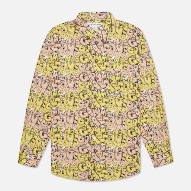 Рубашка мужская Comme des Garcons SHIRT FH-B031-W21, желтый