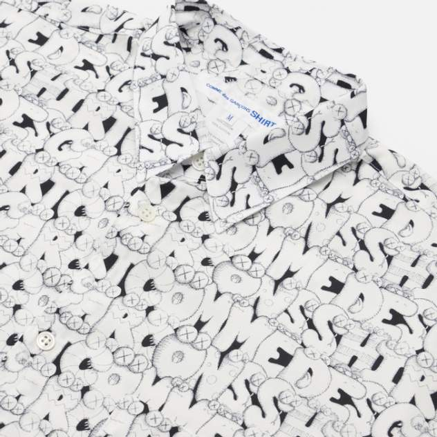 Рубашка мужская Comme des Garcons SHIRT FH-B029-W21, белый