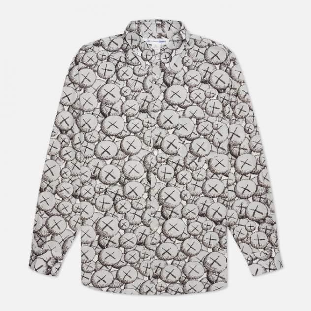 Рубашка мужская Comme des Garcons SHIRT FH-B027-W21, белый