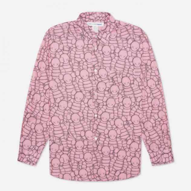 Рубашка мужская Comme des Garcons SHIRT FH-B023-W21, розовый