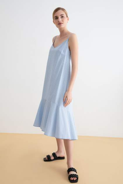 Платье-сарафан женское Concept Club 10200200844 голубое XL