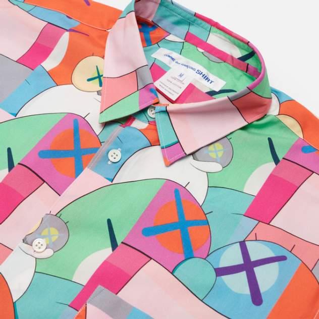 Рубашка мужская Comme des Garcons SHIRT FH-B019-W21, разноцветный