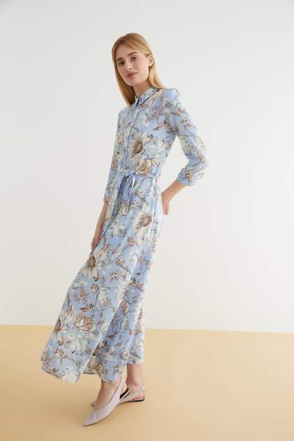 Платье-рубашка женское Concept Club 10200200817 голубое M