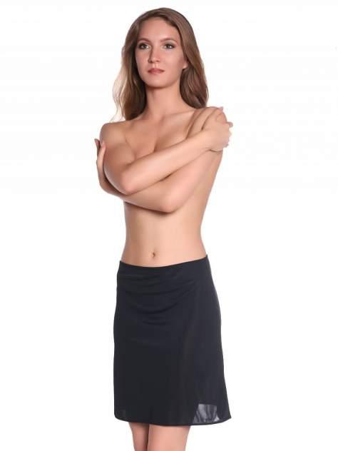 Нижняя юбка женская Kom JP0048701 BASIC MIDI черная XXL