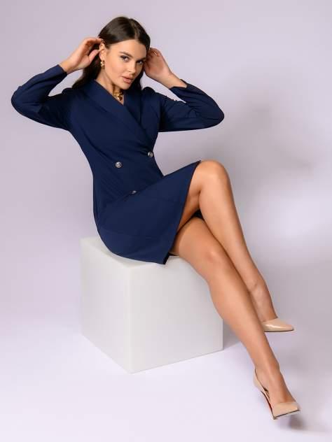 Женское платье 1001dress 0122001-01694BL12, синий