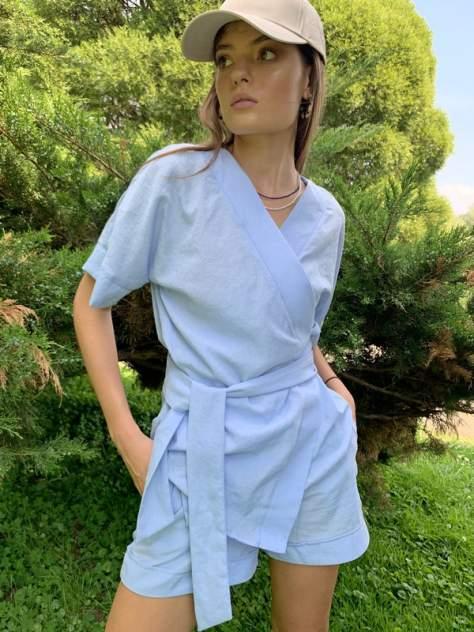 Женский костюм AVEMOD AV 1128, голубой