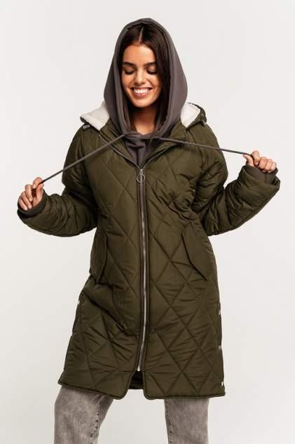 Куртка женская befree 2111177113 зеленая 46
