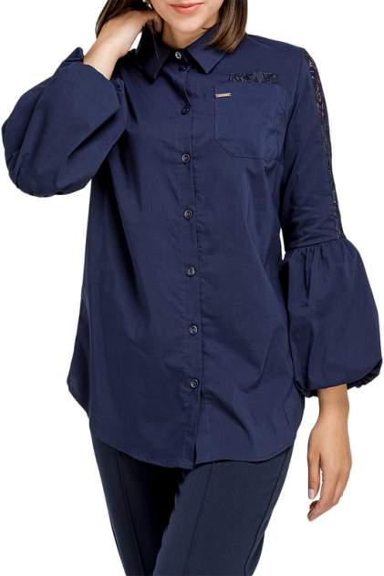 Блуза женская Helmidge 8804 синяя 22