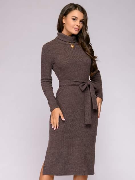 Женское платье 1001dress 0112001-01715BR08, коричневый